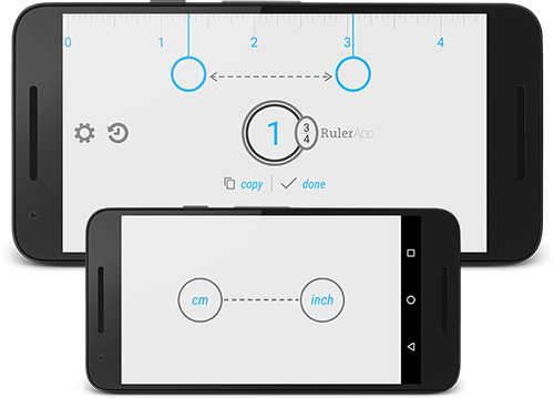 Tape measure app for Android: Measure length with a phone