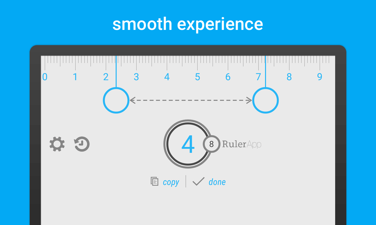 Ruler App for Android: Measure length with your phone